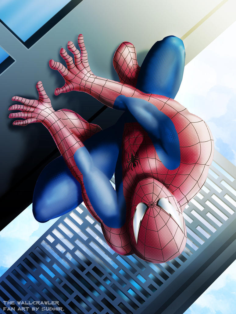 Spectacular Spiderman by sudhirsgosavi
