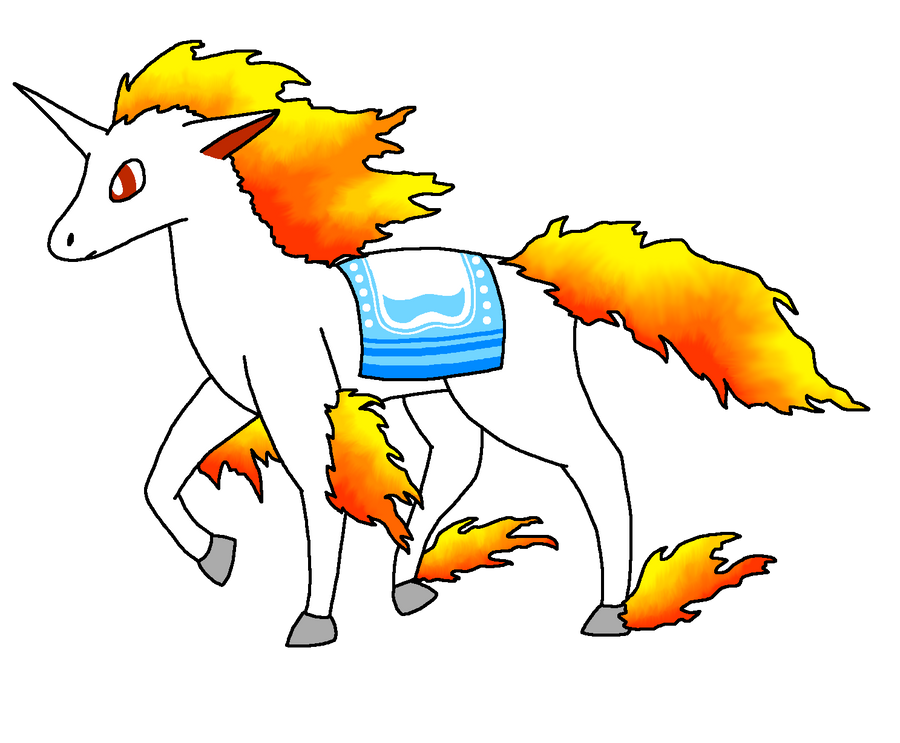 My Artwork - Page 8 Felicity_the_rapidash_by_pancakeshiners-d41zpup