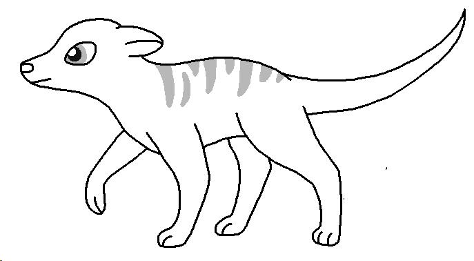 Meerkat Lineart Meerkat_base___smooth_stripes_by_pancakeshiners-d4963ia