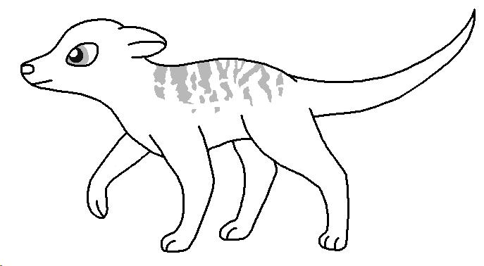 Meerkat Lineart Meerkat_base___broken_stripes_by_pancakeshiners-d4963mk