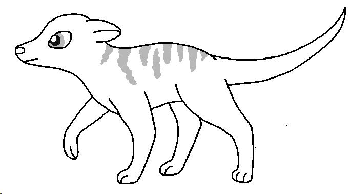 Meerkat Lineart Meerkat_base___round_stripes_by_pancakeshiners-d4963sc