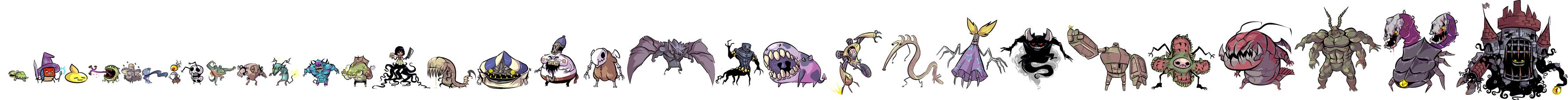 Monsters by ShwigityShwonShwei