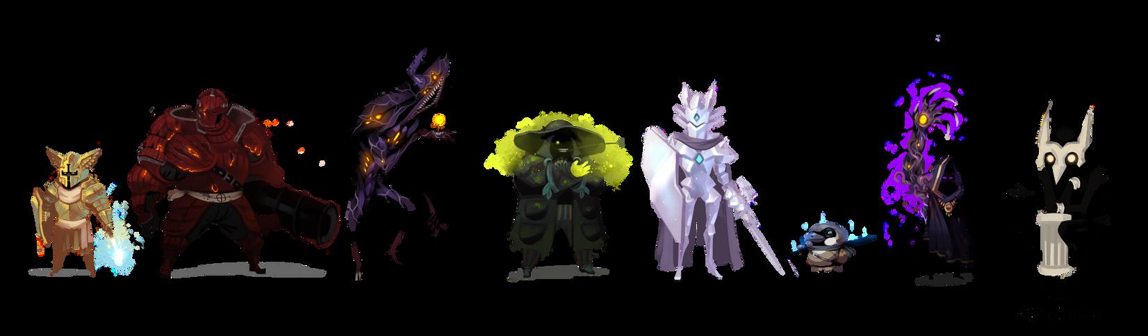 Some familiar faces.