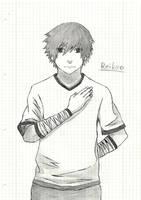 Fast Drawing - OC Shiki by Reikeo
