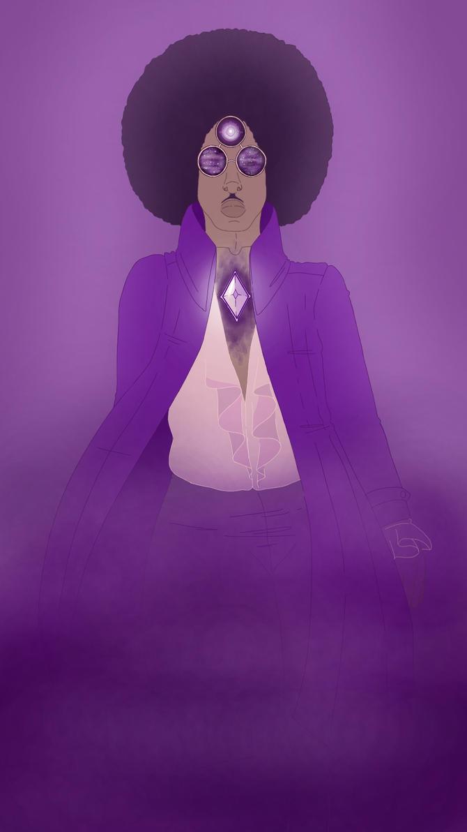 Purple Diamond. by rosedonyx