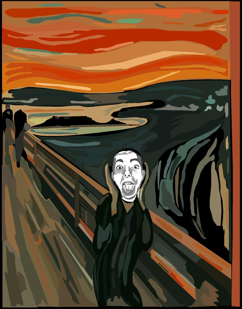 The Scream by Tukutela