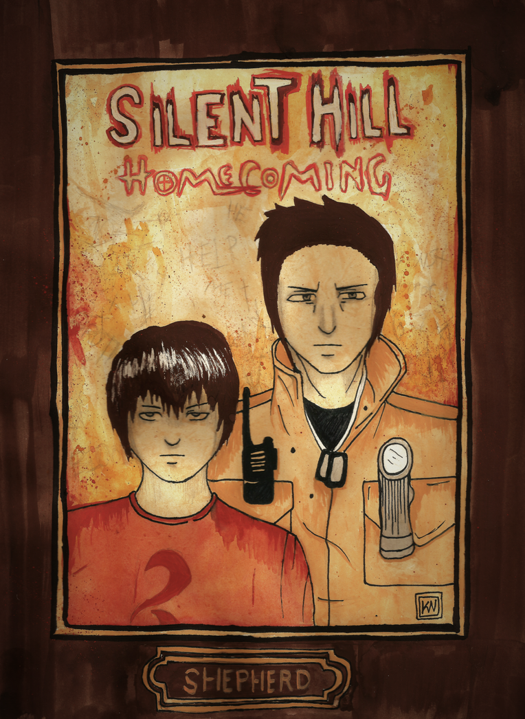 Silent Hill: Homecoming [F A N - A R T] by BloodBurstRosso