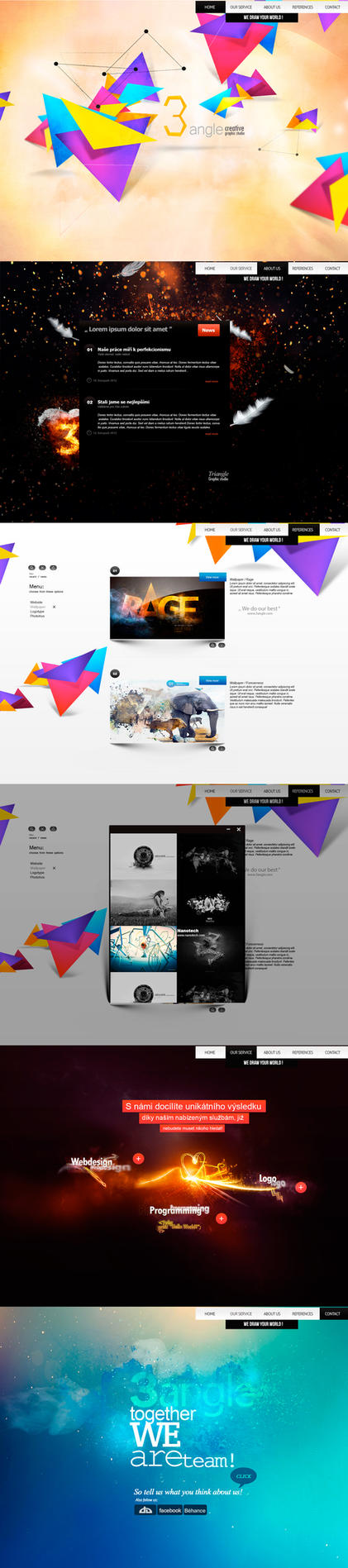 3angle creative graphic studio by ArsiZyr