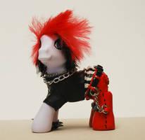 Emo, Punk, Goth Pony by TimBurtonFan11