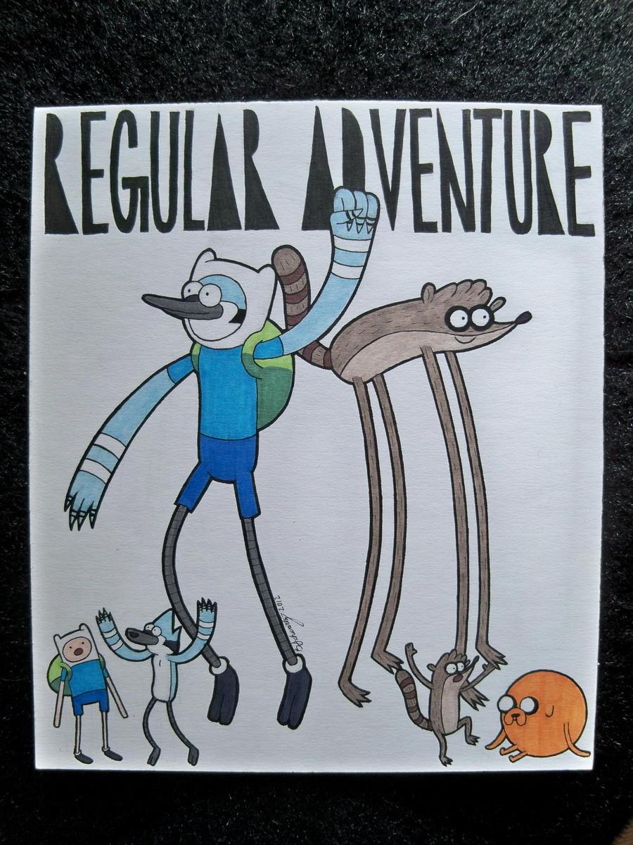 Regular Adventure by TimBurtonFan11