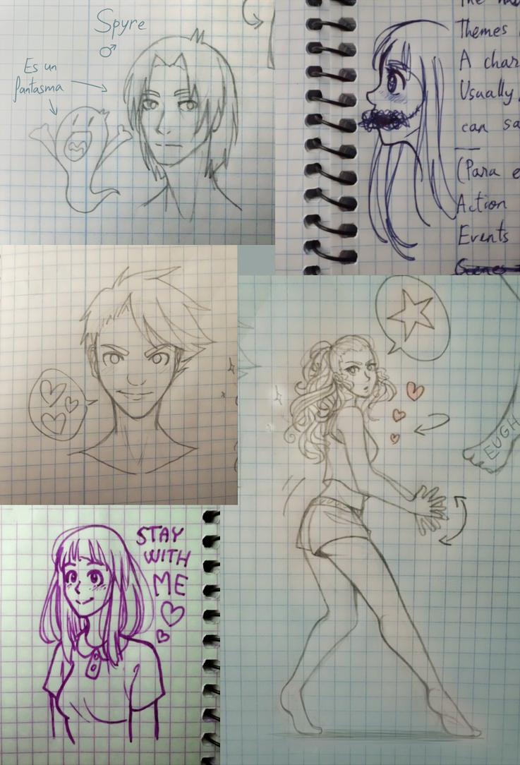 Sketchdump 001 by ZoerithH