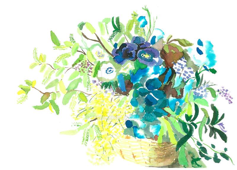 Flower Basket by teriju