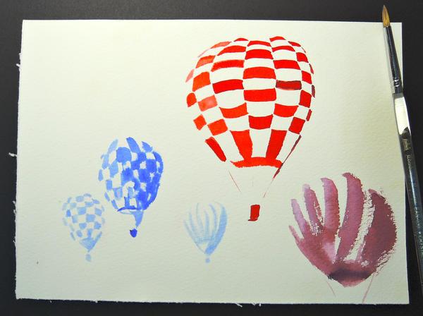 Hot Air Balloon 1 by teriju