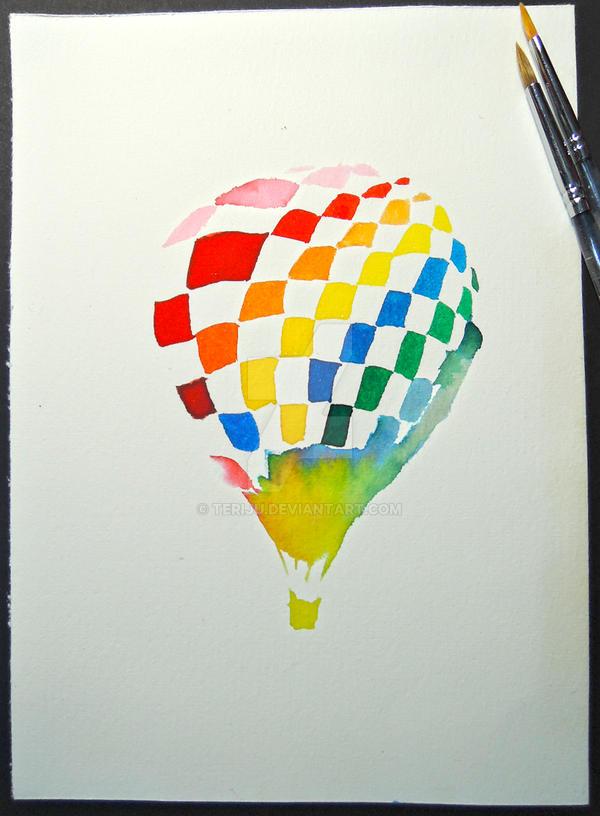 Hot Air Balloon 2 by teriju