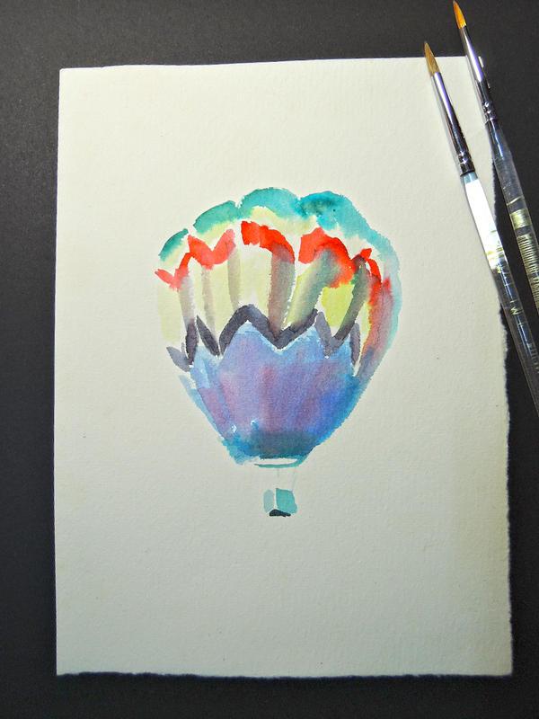 Hot Air Balloon 3 by teriju