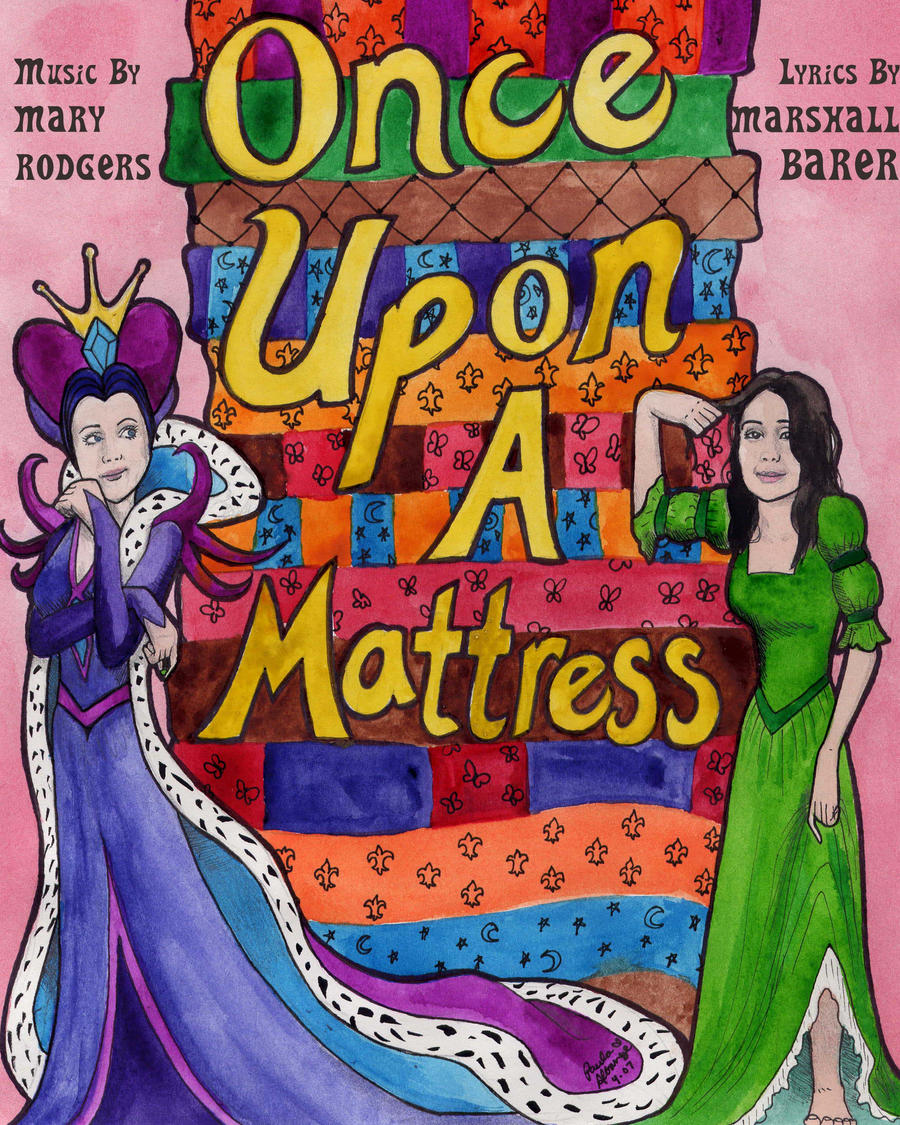 once upon a mattress poster. Zikka 4 0 Once Upon A Mattress Playbill By Squonkhunter Poster
