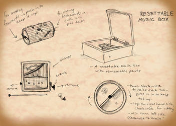 Resettable Music Box by squonkhunter
