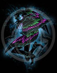 Neon Crow (Cesare the Drag Prince)