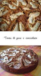 Torta di pere e cioccolato by natyna82