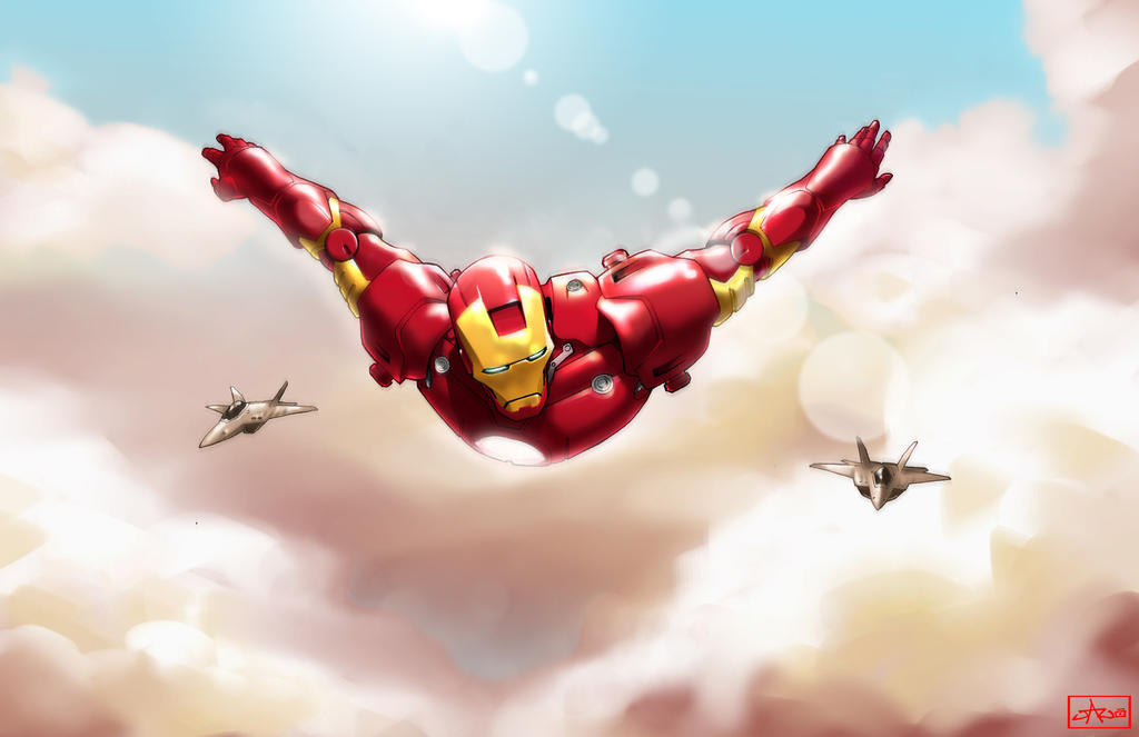 i am ironman by lazeedog