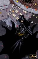 The Dark Knight by lazeedog