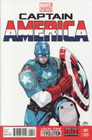 Marvel Now Cap by lazeedog