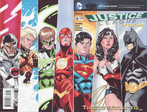 Justice League Colored