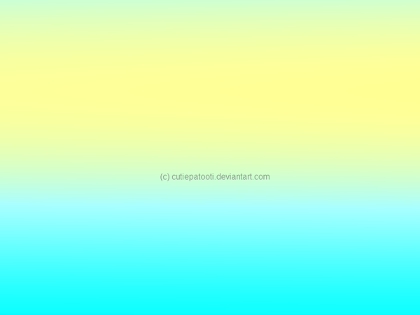 Blue Yellow Green Ombre Background By Cutiepatooti