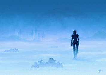 Wanderin' in blue by Dolmheon