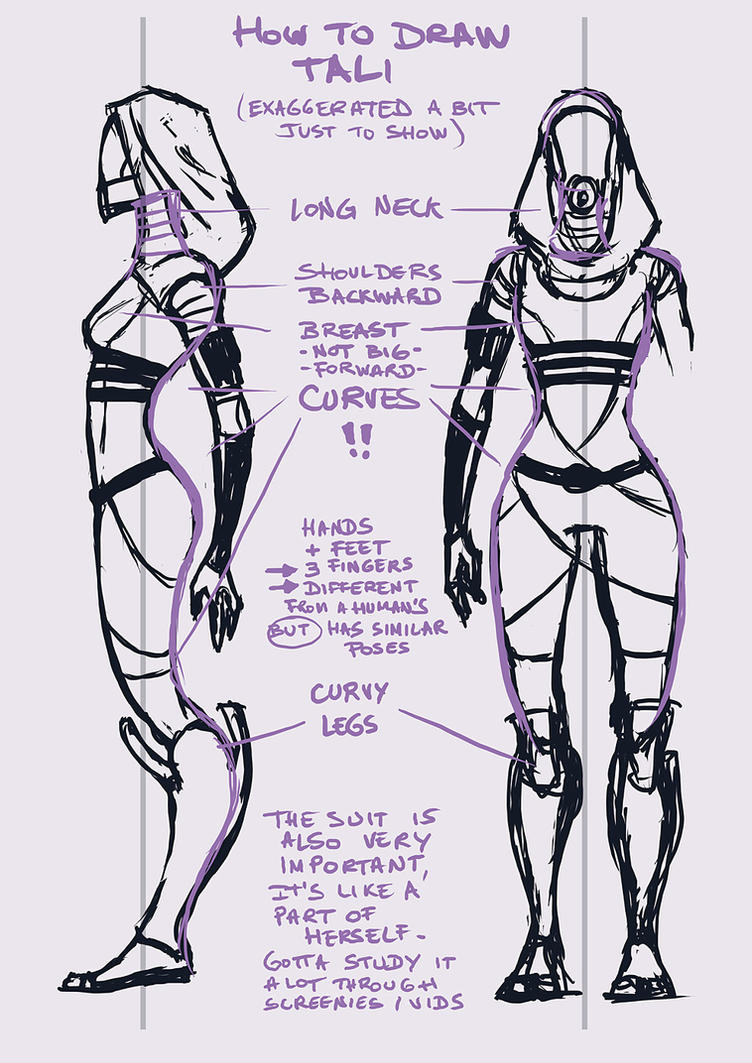 How to draw Tali by Dolmheon