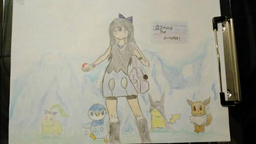 Dymond (Pokemon trainer form) by Kayato-Miyazaki