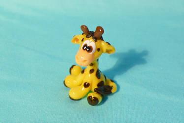 Little Giraffe by Monocian