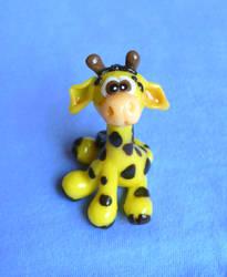 2nd little giraffe by Monocian