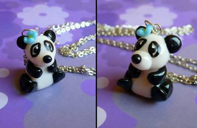Panda pendant by Monocian