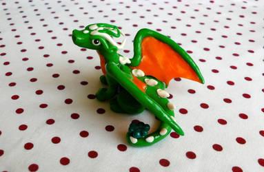 Irish Dragon by Monocian