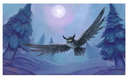 Owl by Nathrezija