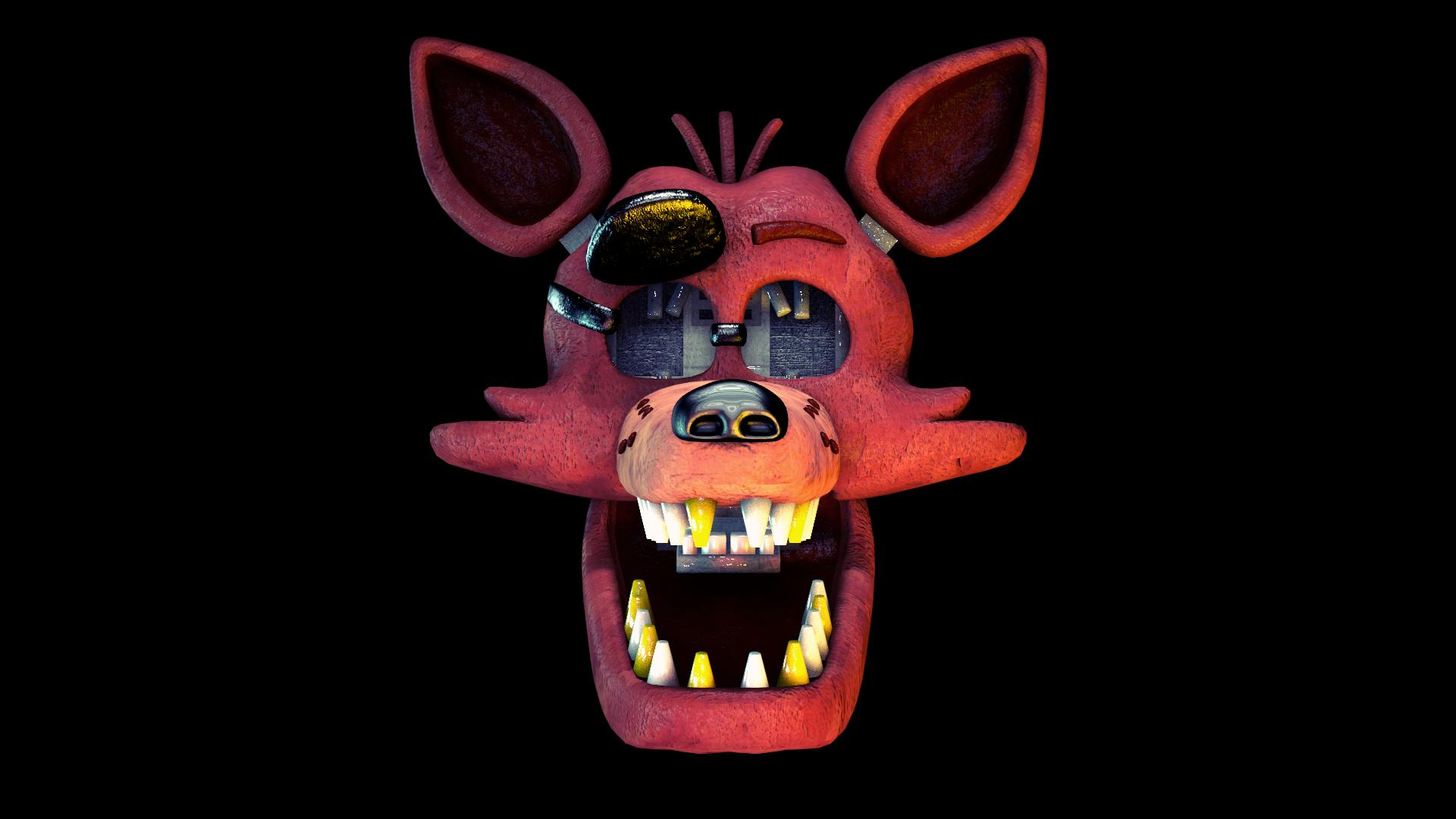Foxy Head By MARTIN3X On DeviantArt