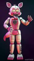 FNAF : SL SFM | Funtime Foxy Poster