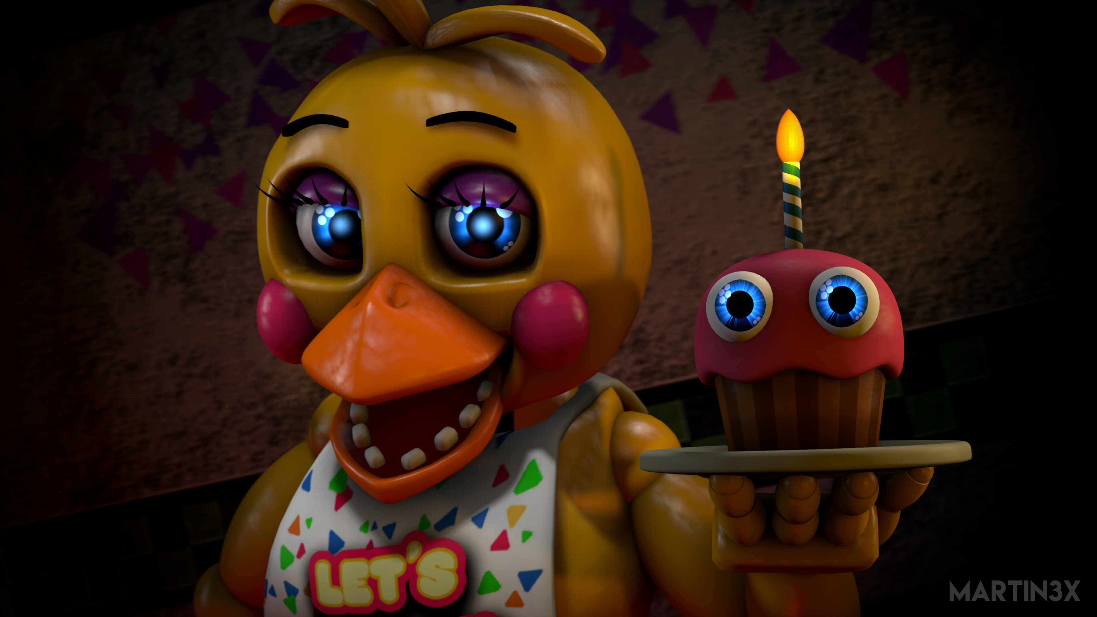 Toy Chica By MARTIN3X On DeviantArt