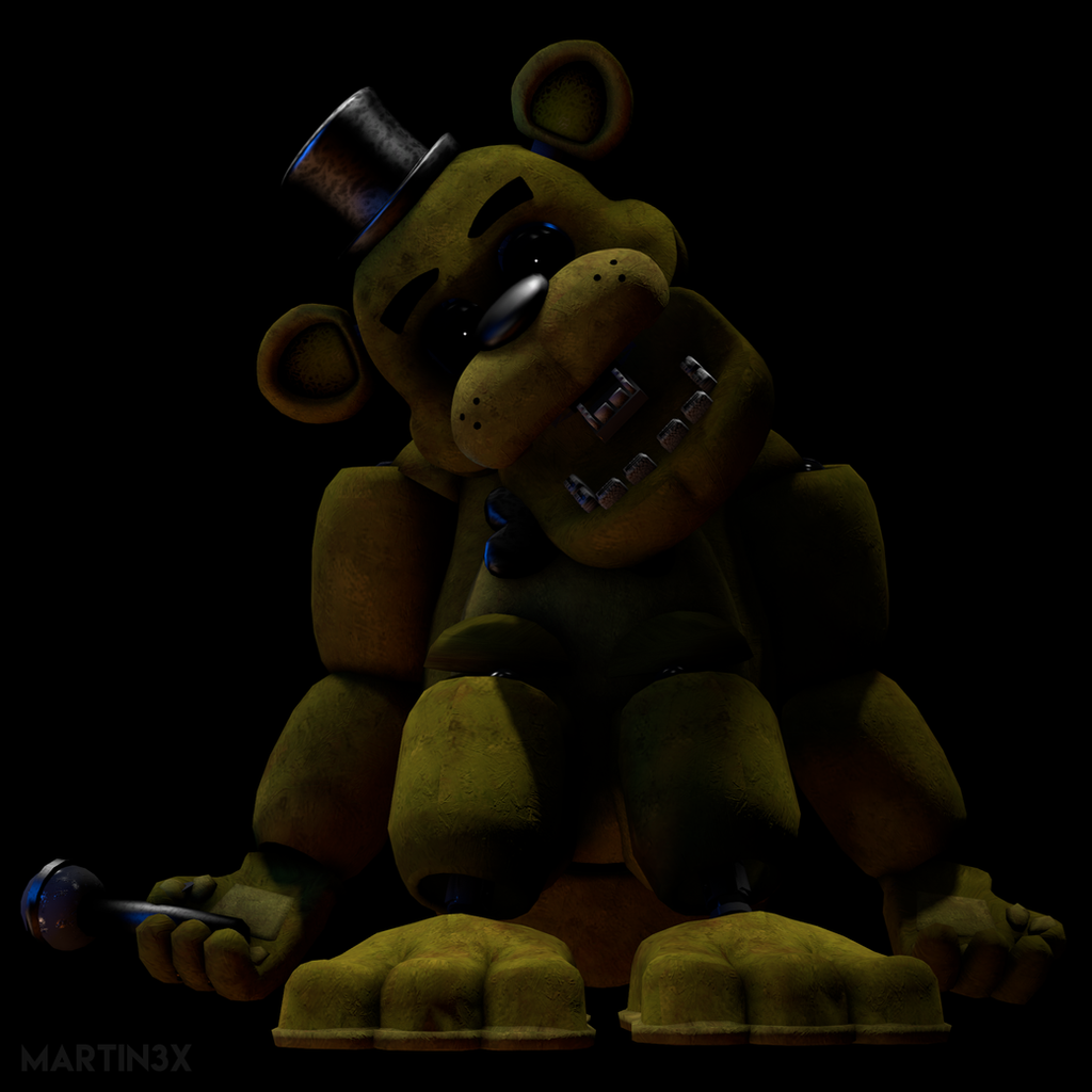 FNAF SFM | Golden Freddy by MARTIN3X on DeviantArt