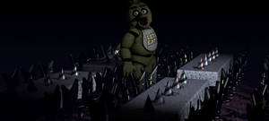 FNAF SFM   Chica At The Dining Area REMAKE