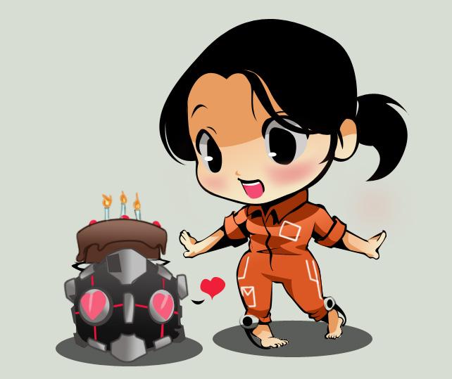 The cake is true by Jotamora
