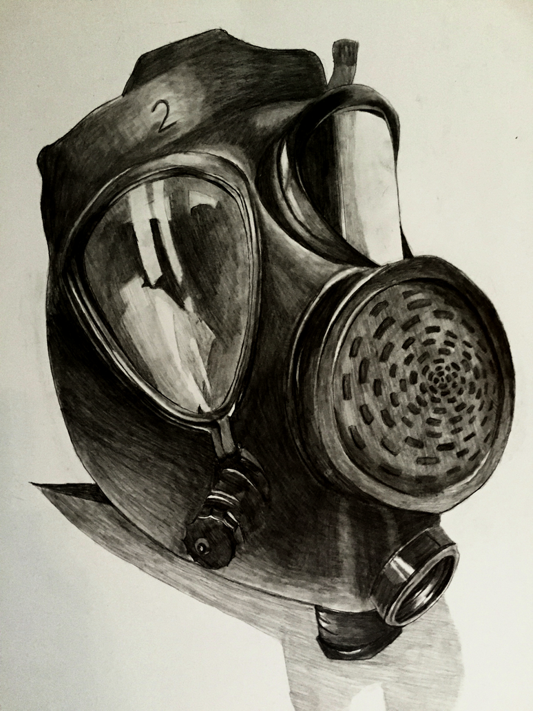 Gas Mask by xMegalynx