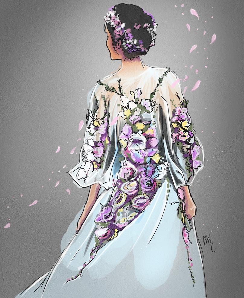 Flower Girl by xMegalynx