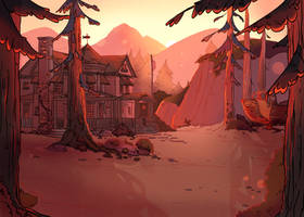 Home Illustration by Megnarr