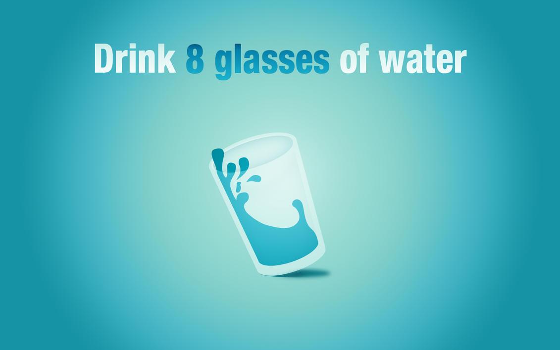 Drink Water by Liesjuh
