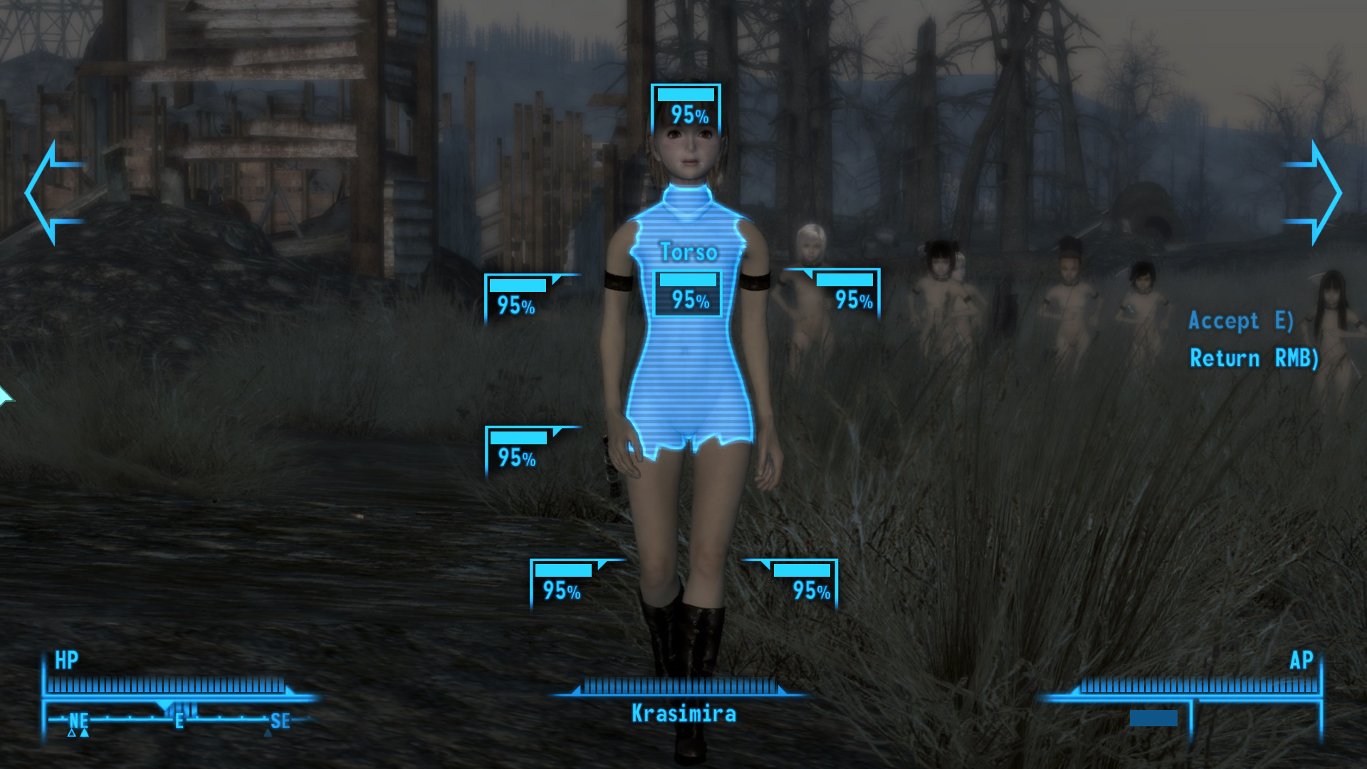 Fallout 3 desnudo mod