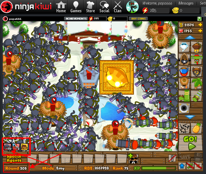 ninjakiwi com games tower defense bloons tower def by popa666 on