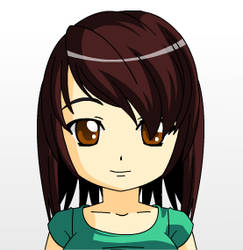 Me in anime form by kirbypet
