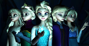The many faces of Elsa